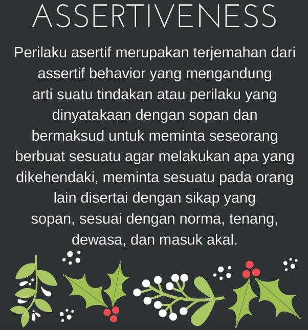 asertif 1